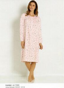 Le donne contiamo Star Stampa Camicia da Notte Nightwear cotone della buonanotte T-shirt Top UK8-22