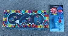 Eeboo Juggling Balls Embroidered Blue Velvet Set +Loftus Magic Ball & Vase Trick