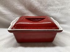Emille Henry Red Lidded Cookware