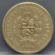1991 Peru - 1 Un nuevo sol 1991 - KM# 308.1