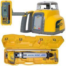 Spectra Laser Level LL300-2 w/HL450 Receiver Complete Kit w/Inch Grade Rod