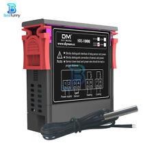 Stc 1000 Ac110 220v Temperature Controller Thermostat Regulator With Ntc Sensor