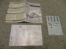 Tally Ho  decals 1/72 P-51 Mustang Aces Part 1 Lester Turner Brown Tenor   L17