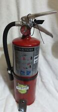 One New Buckeye 5lb 2021 Cert Abc Fire Extinguisher Withwall Hook Withsign