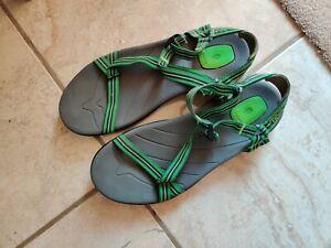 Green Teva Sandals