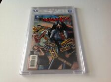 JUSTICE LEAGUE 23.3 CBCS 9.8 WHITE PGS DIAL E 1 3D LENTICULAR LIKE CGC