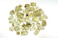 Yellow Apatite Crystals 2 1/2 Oz 854 Carats Rock Mineral Specimen Chakra Healing