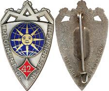 42° Régiment d'Infanterie, NEUF BRISACH, petit écu, Delsart (7676)