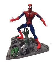"""Marvel Leggende Spiderman classico costume dei fumetti 6"""" Giocattolo Action Figure e base"""