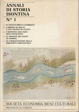 1986 – ANNALI DI STORIA ISONTINA – GORIZIA CULTURA NUMISMATICA BIBLIOGRAFIA