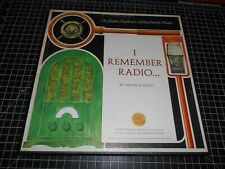 "New Vintage Frank Knight ""I Remember Radio"" Rare 3 Vinyl LPs With Storage Box"