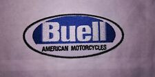 A529 PATCH ECUSSON BUELL BLEU 10*4,5 CM