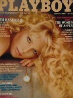 Playboy February 1983 | Kim Basinger elinda Mays The Year in Sex   #1205+