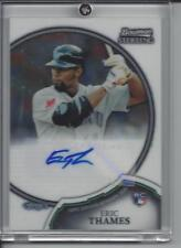 ERIC THAMES RC 2011 Bowman Sterling RC Auto #23 Rookie