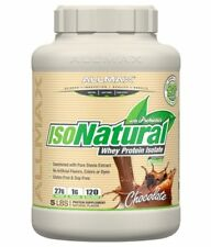 AllMAX IsoNatural 5lb Naturally Sweetened Whey Protein Isolate - All Flavors