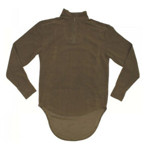 Brit. Army Combat Undershirt Thermal light Oliv  180/100 (L) ,Thermo Shirt  neuw