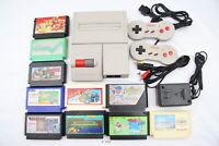 Fully Tested! Nintendo New Famicom Console AV NES AC100V NTSC-J Japan #3322