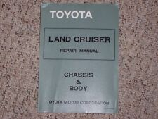 1975-1980 Toyota Land Cruiser Shop Service Repair Manual 1976 1977 1978 1979