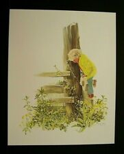"""Carolyn Blish Limited Edition Signed Print """"A Closer Look"""""""
