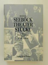 Herwig Seeböck Theaterstücke