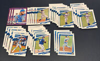 2021 Donruss Toronto Blue Jays 30+ Card Team Lot Variation Blue Foil Bichette