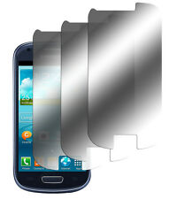 3 x Spiegelfolie Samsung Galaxy S3 Mini i8190 Displayschutz Folie Mirror Screen
