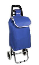 Carrello portaspesa pieghevole 2 ruote trolley spesa richiudibile portata 25 kg