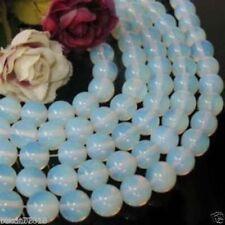 """8mm AAA Natural Sri Lanka Moonstone Round GEMSTONES Loose Beads 15"""""""