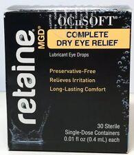 Ocusoft Retaine Dry Eye MGD Ophthalmic Emulsion 30 Single Dose EXP 08/20 7304