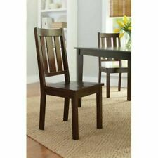 Better Homes And Gardens Bankston Dining Chairs Wood Set Of 2 - Mocha