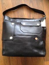 1dd1957343be Kin by John Lewis Luna Leather Shoulder Tote Shopping Bag Phantom Black