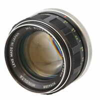 Minolta 58mm F/1.4 Rokkor-PF MC Mount Manual Focus Lens {55} - (UG)