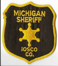 Iosco County Sheriff's Office, Michigan Shoulder Patch