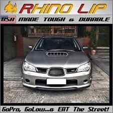 Scooby Subby Subaru Sti Stx Flexible Front Splitter Spoiler Chin Lip Edge Trim Fits Saturn Aura