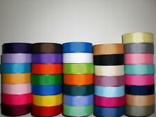 """LOT 36 YARDS GROSGRAIN RIBBON SOLID COLORS 5/8 INCH """"REFBL2"""