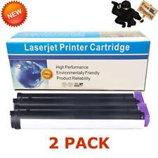 2 PK B410 Toner Cartridges For Okidata B410D B420 B420DN B430 B430DN B440 B440DN