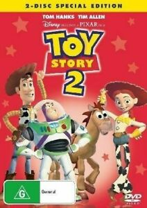 Toy Story 02 DVD (2 Disc Special Editoin, Pal, 2010) Free Post