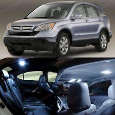 8 x Ultra White LED Lights Interior For Honda CR-V CRV 2007 - 2012 + Pry TOOL