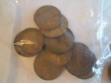 LOT OF OLD GERMAN, LIRE, CENTS & MUCH MORE COINS - NICE CONDITION -
