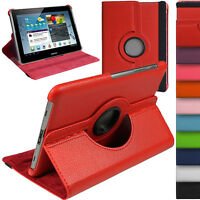 360 Rotate Leather Stand Case Cover For Samsung Galaxy Tab 2 10.1 P5110 P5100