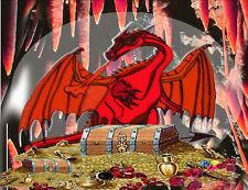 Dragon's Hoard Fridge Magnet - Fantasy/Myth