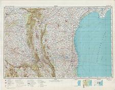 Russian Soviet Military Topographic Maps - KURNOOL (India), 1:500K, ed.1957