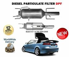 FOR SAAB 9-3 93 1.9 TiD Z19DT DTL 2004-2008 New Diesel Particulate FILTER DPF