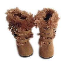 My Brittany's Modern Fur Boots For American Girl Dolls- Ships from USA Company