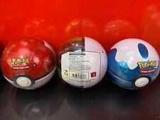 POKEMON TCG Poke Ball Tin 2020 3 Booster Card Packs + Coin