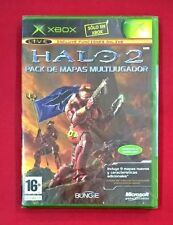 Pal version Microsoft Xbox halo 2 multiplayer Map pack