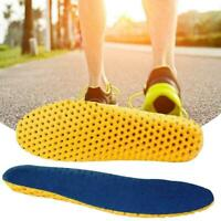 1 Pair Memory Foam Shoe Insoles Breathable Arch Support Soft Pad A6X9