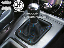 BLUE STITCH FOR MAZDA MX5 MK1 89-97 LEATHER GAITER GEAR SHIFT BOOT CUSTOM MADE