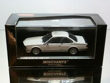 MINICHAMPS KYOSHO BMW 635 CSi 1982-87 - ALPINE WHITE 1:43 - EXCELLENT IN BOX