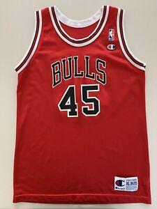 Michael Jordan Chicago Bulls NBA Champion Jersey 18-20